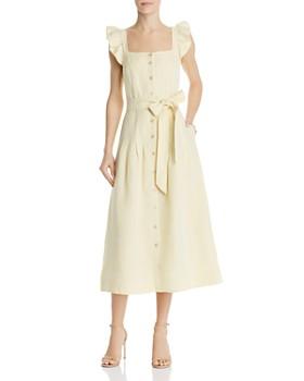 286bd8929599b Rebecca Taylor - Drop-Pleat Midi Dress ...