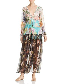 Rococo Sand - Floral Maxi Dress
