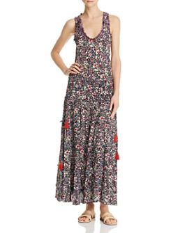 Poupette St. Barth - Bety Floral Maxi Dress
