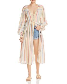 2766f3aef8d0 Suboo - Playhouse Striped Midi Dress ...