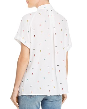 AQUA - Beach Print Shirt - 100% Exclusive