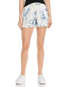 AQUA - Tie-Dye Drawstring Shorts - 100% Exclusive