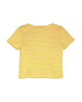 AQUA - Girls' Striped Tee, Big Kid - 100% Exclusive