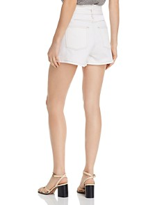 Joie - Galenia Belted Denim Shorts in Porcelain