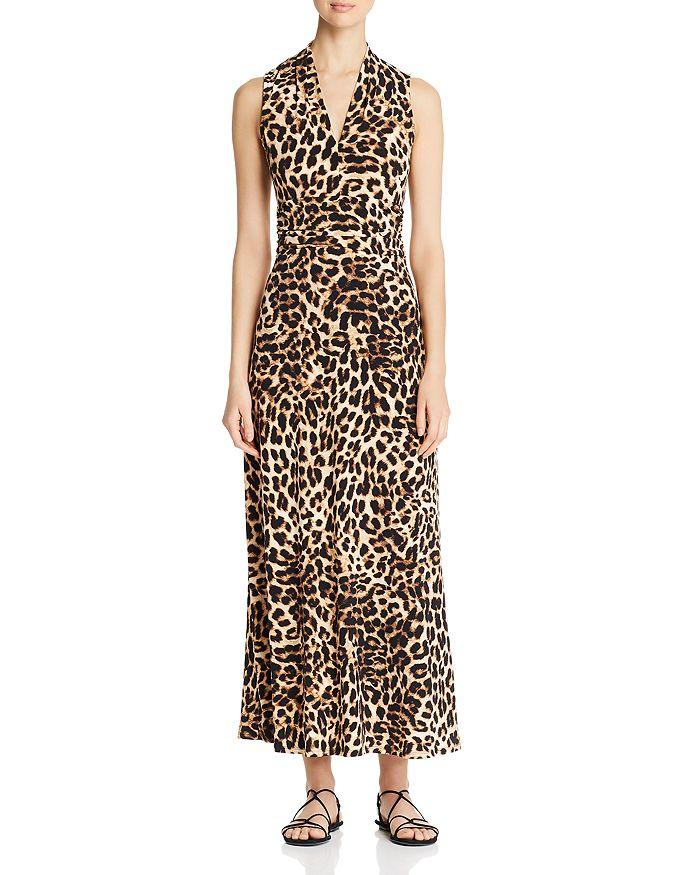8bb49ea067 VINCE CAMUTO - Leopard-Print Maxi Dress