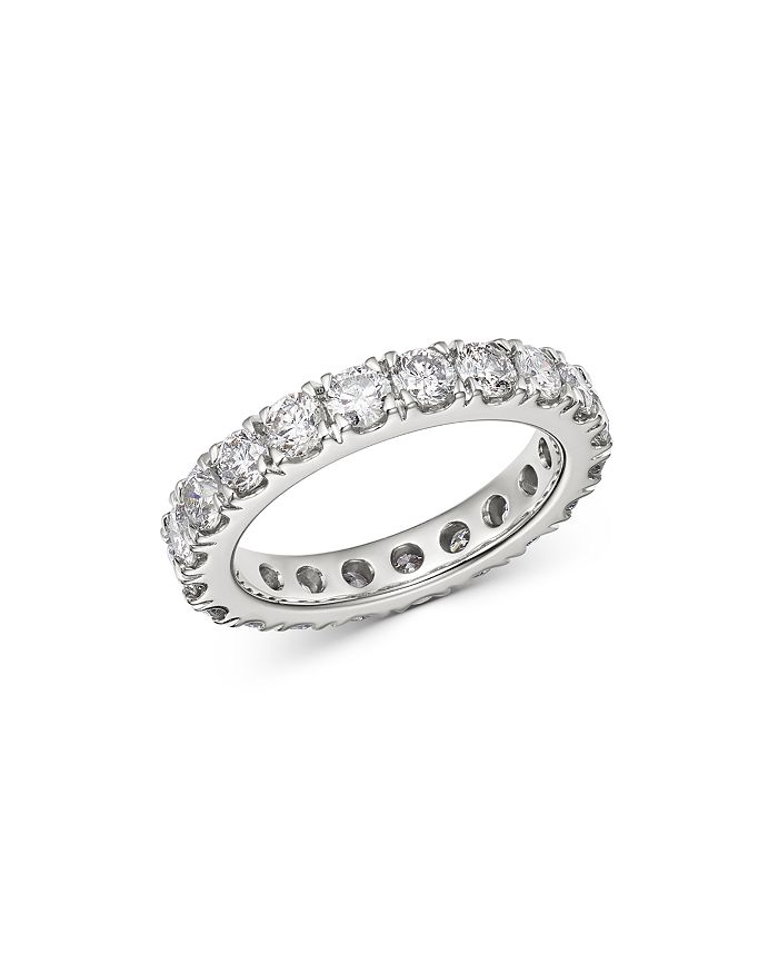 Bloomingdale's - Diamond Eternity Band in 14K White Gold, 3.0 ct. t.w. - 100% Exclusive