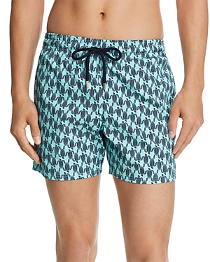 Vilebrequin Superflex Armor Turtle Print Swim Shorts
