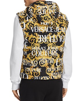 Versace Jeans Couture - Logo-Print Puffer Vest