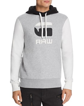 G-STAR RAW - Graphic 19 Core Color-Block Hooded Sweatshirt