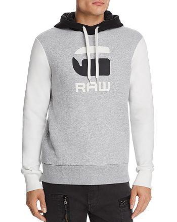 G-STAR RAW - Graphic 19 Core Color-Block Hooded Sweatshirt