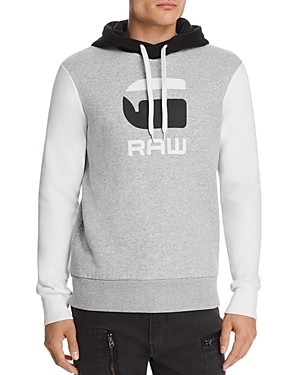G-Star Raw T-shirts GRAPHIC 19 CORE COLOR-BLOCK HOODED SWEATSHIRT