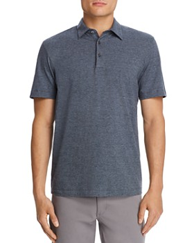 Theory - Bron Mini-Stripe Regular Fit Polo Shirt - 100% Exclusive