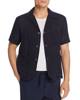Barena - Short-Sleeve Regular Fit Overshirt