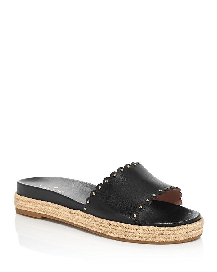 kate spade new york - Women's Zeena Espadrille Slide Sandals