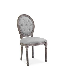 Modway - Arise Vintage French Upholstered Fabric Dining Side Chair