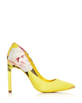 Ted Baker - Women's Melnip Floral Pointed-Toe Pumps