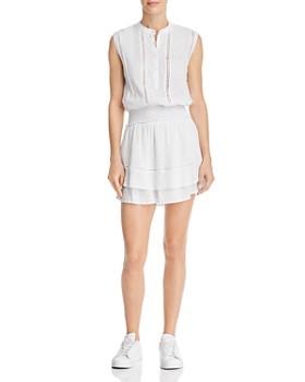 Rails - Angelina Lace-Inset Blouson Dress
