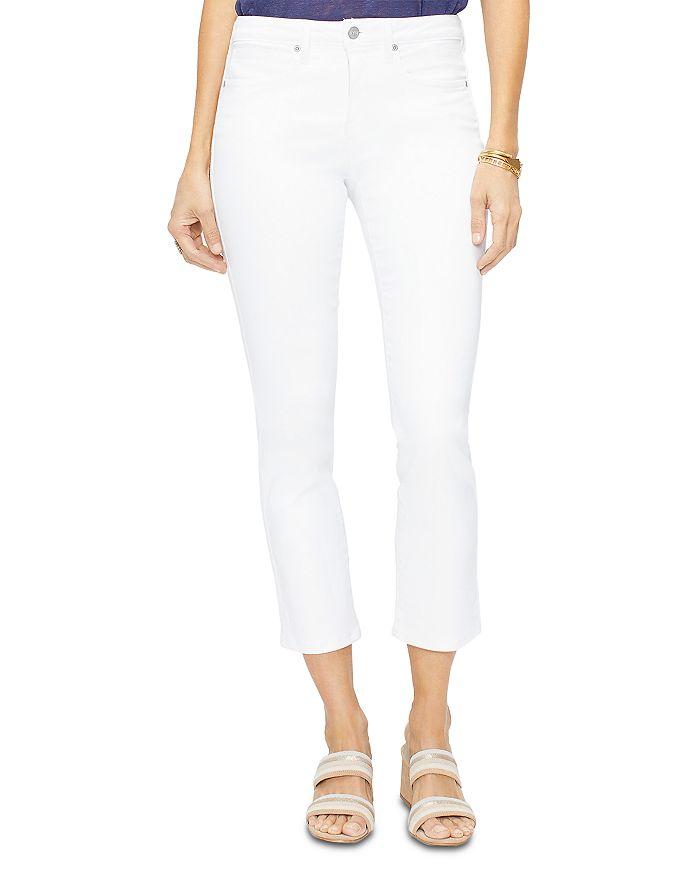 NYDJ - Sheri Cropped Slim Jeans in Optic White