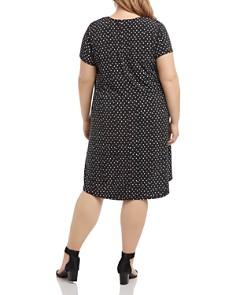 Karen Kane Plus - Maggie Printed Swing Dress