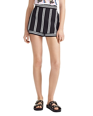 Maje Ikila Striped Skort