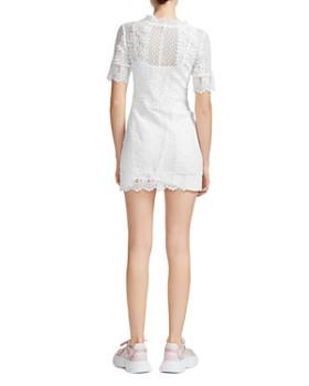 Maje - Revanta Lace-Trim Sheath Dress