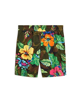 Ralph Lauren - Boys' Kailua Floral-Camo Swim Trunks - Little Kid