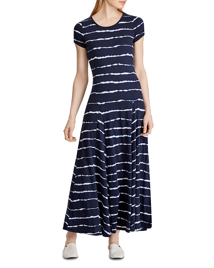 Ralph Lauren - Tie-Dye-Stripe T-Shirt Dress