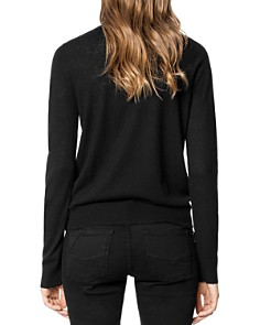 Zadig & Voltaire - Miss Peace Embellished Cashmere Sweater
