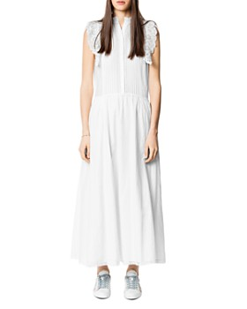 Zadig & Voltaire - Romane Lace-Trimmed Maxi Dress