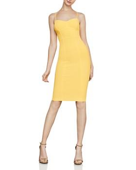 4ff407cfd6b7 BCBGMAXAZRIA - Piped Body-Con Dress ...