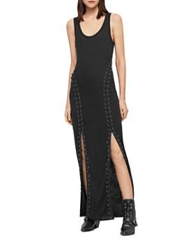 c4d9a05dfec ALLSAINTS - Daner Lace-Up Maxi Dress ...