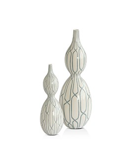 Global Views - Linking Trellis Double Bulb Vase Collection