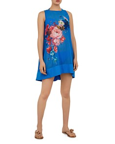 Ted Baker - Novya Raspberry Ripple Cover-Up