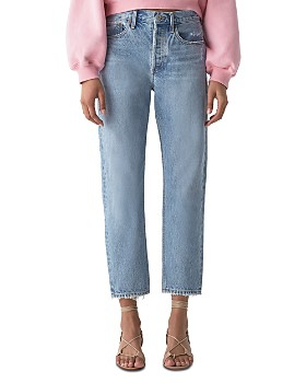 AGOLDE - Parker High-Rise Cropped Straight Jeans in Swapmeet
