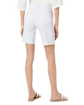 ae9bca4a7 ... Joe s Jeans - The Hi Honey Bermuda-Destructed-Cut Hem Shorts in Mattie