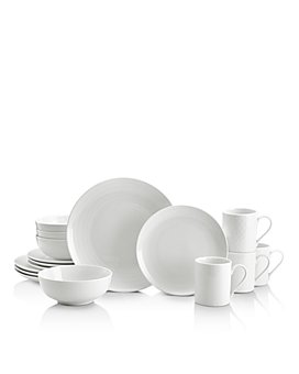 Mikasa - Cheers White 16-Piece Dinnerware Set