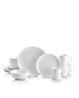 Mikasa - Cheers White 16-Piece Dinnerware Set