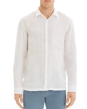 Theory - Irving Summer Linen Regular Fit Shirt