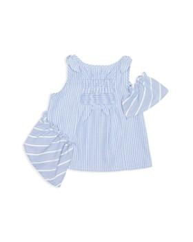 Habitual Kids - Girls' Mixed-Stripe Ruffled Tank - Baby