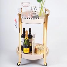 8 Oak Lane - Round Bar Cart
