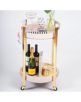 8 Oak Lane - Round Bar Cart