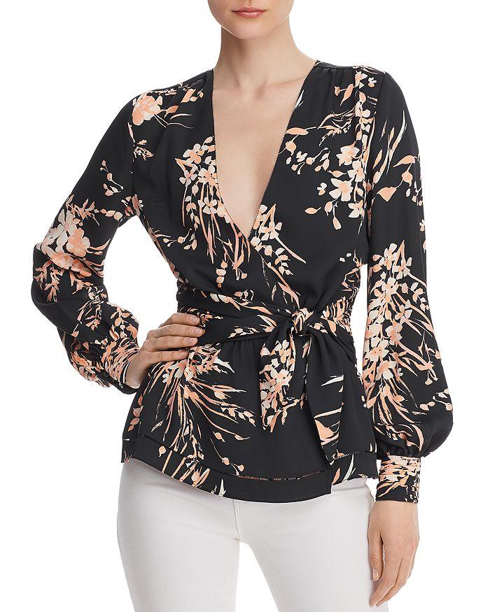 9ed520c3c067 Joie Arin Floral Wrap Top | Bloomingdale's