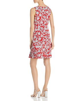 KARL LAGERFELD Paris - Sleeveless Floral-Print Dress