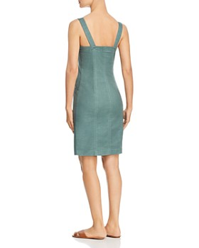 Level 99 - Amelia Button-Front Dress