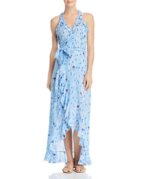 Poupette St. Barth - Tamara Ruffle Wrap Dress