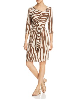 Leota - Celeste Zebra-Print Dress