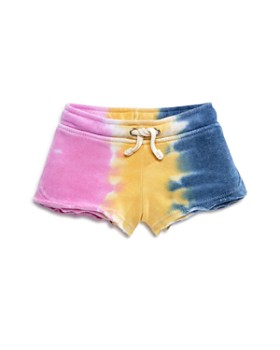 Vintage Havana - Girls' Tie-Dye Cut Off Shorts - Big Kid