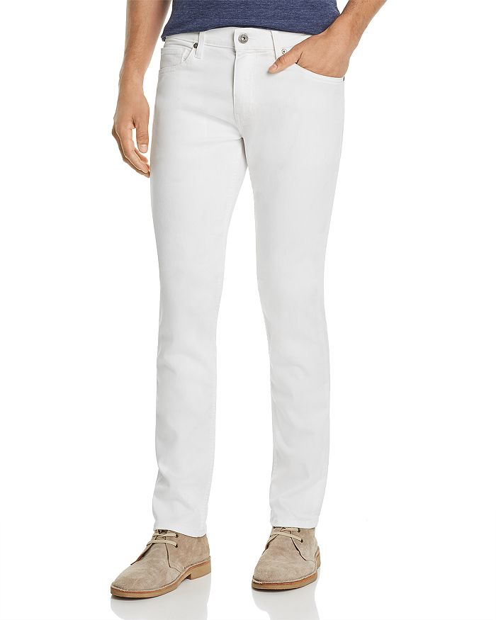 PAIGE - Lennox Slim Fit Jeans in Icecap