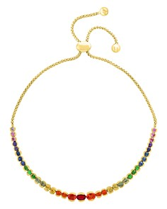 Bloomingdale's - Rainbow Sapphire Bolo Bracelet in 14K Yellow Gold - 100% Exclusive