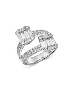 Bloomingdale's - Diamond Mosaic Statement Ring in 14K White Gold, 2.0 ct. t.w. - 100% Exclusive